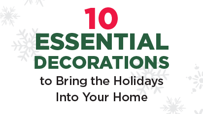 Shop ten essential decorations