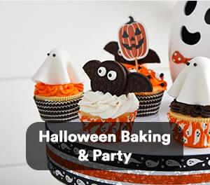 Halloween Baking & Party