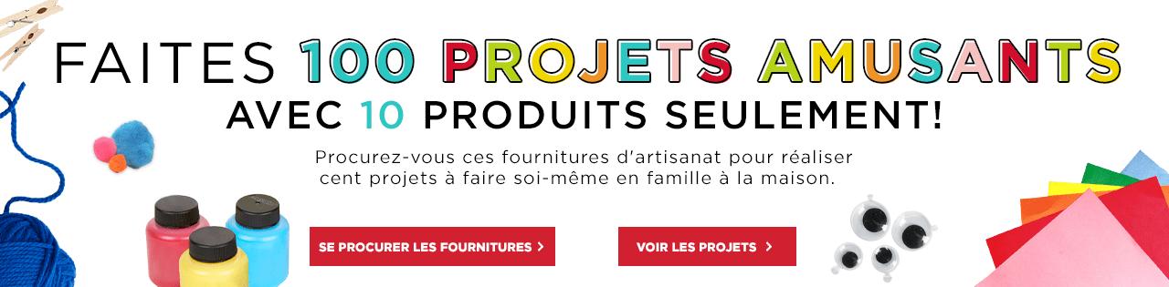 Faits 100 Projets Amusants