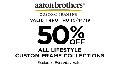 50% OFF ALL Lifestyle Custom Frame Collections