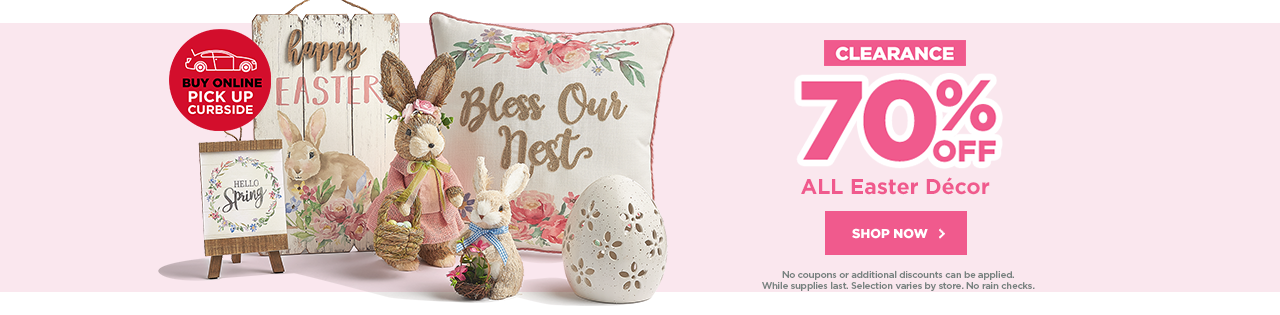 CLEARANCE 70% OFF ALL Easter Décor