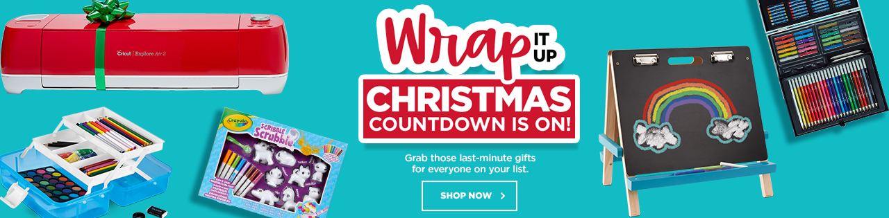 Wrap It Up Christmas Countdown Is on!