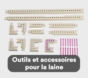 Outils et accessoires pour la laine
