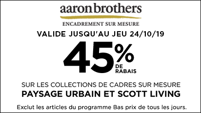 45 % DE RABAIS Cityscape & Scott Living
