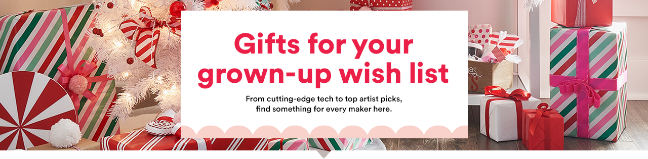 Gifts for your Grown Up wish list.