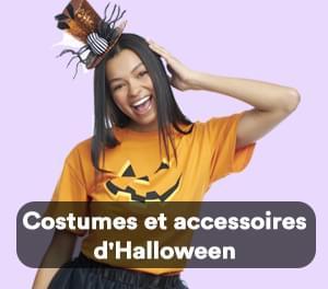 Costumes et accessoires d'Halloween