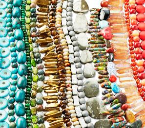 Perles semi-précieuses