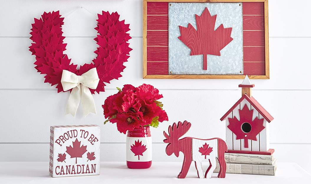 Canada Day Décor