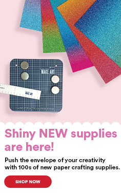 Shiny NEW supplies are here!