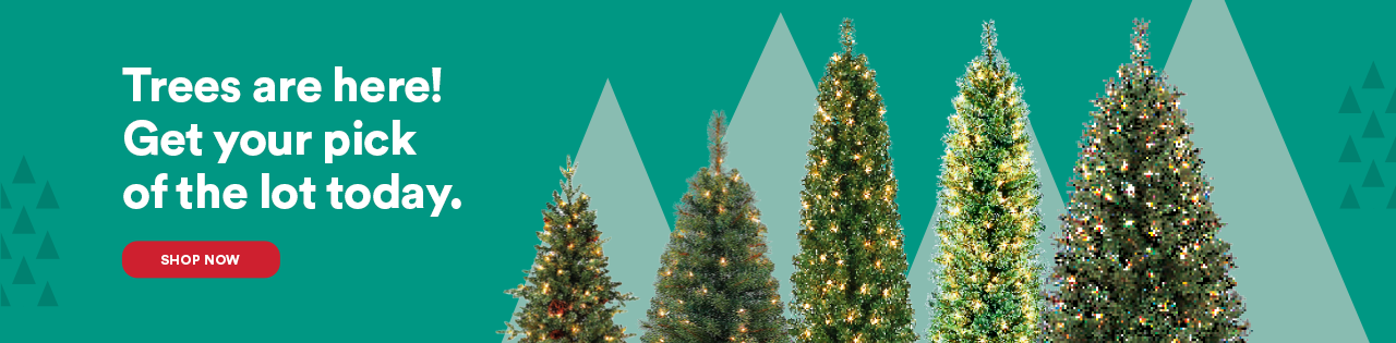 Trees are here! Get your pick of the lot today.