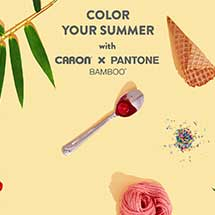 Color your summer with caron x pantone bamboo