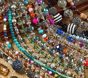 Perles variées