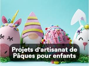 Projets d'artisanat de Pâques pour enfants