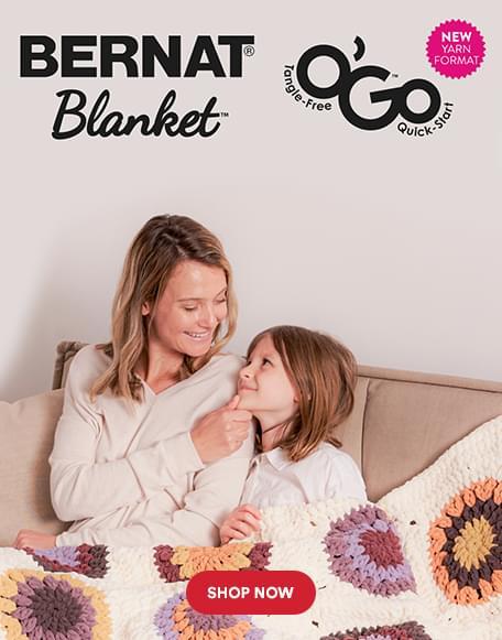Bernat® Blanket™. Shop now