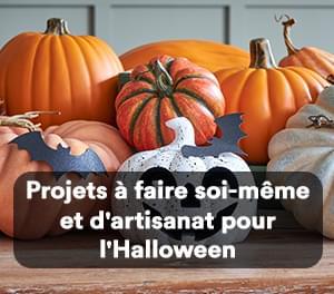 Projets à faire soi-même et d'artisanat pour l'Halloween
