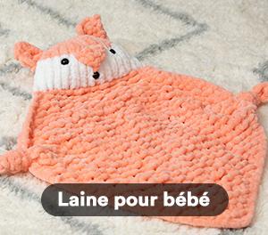 Laine pour bébé