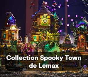 Collection Spooky Town de Lemax