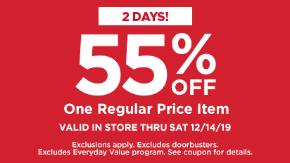 55% OFF One Regular Price Item