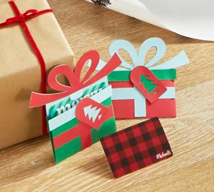 Support pour carte-cadeaux de Noël par Cricut