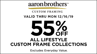 55% OFF ALL Lifestyle Custom Frame Collections