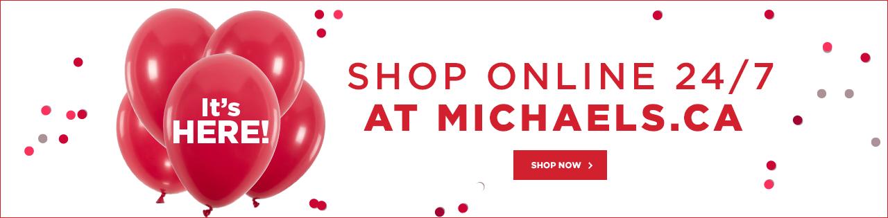 Shop Online 24/7 At Michaels.ca