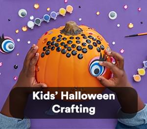 Kids' Halloween Crafting
