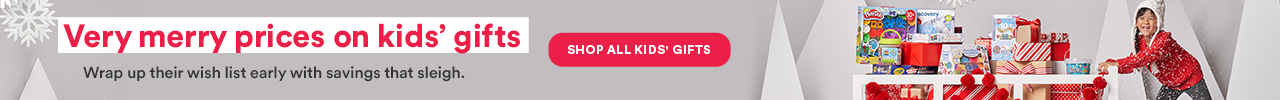 Very merry pricing on kids gifts. Shop All Kids Gifts >